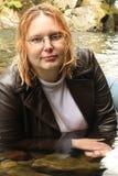 δέρμα σακακιών μακρύ Στοκ εικόνα με δικαίωμα ελεύθερης χρήσης