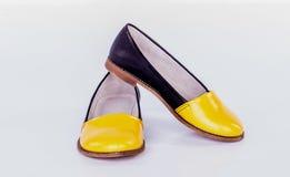 Δέρμα υποδημάτων παπουτσιών Στοκ εικόνα με δικαίωμα ελεύθερης χρήσης