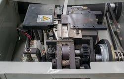 Δέσιμο της μηχανής για τη συσκευασία Industrail Στοκ φωτογραφίες με δικαίωμα ελεύθερης χρήσης