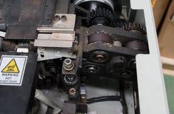 Δέσιμο της μηχανής για τη συσκευασία Industrail Στοκ Εικόνα