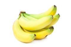 Δέσμη τέλεια να φανεί μπανάνες Στοκ Εικόνες