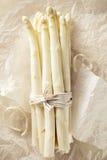 Δέσμη του άσπρου σπαραγγιού Στοκ εικόνα με δικαίωμα ελεύθερης χρήσης