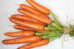Δέσμη των καρότων Στοκ εικόνες με δικαίωμα ελεύθερης χρήσης