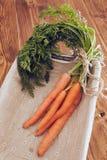 Δέσμη των καρότων Στοκ Εικόνες