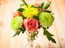 Δέσμη των λουλουδιών φθινοπώρου στοκ φωτογραφία