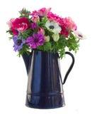 Δέσμη των λουλουδιών anemone Στοκ εικόνα με δικαίωμα ελεύθερης χρήσης