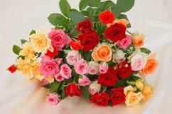 Δέσμη των τριαντάφυλλων Στοκ φωτογραφία με δικαίωμα ελεύθερης χρήσης