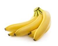 Δέσμη των φρέσκων πεντακάθαρων κίτρινων μπανανών Στοκ εικόνες με δικαίωμα ελεύθερης χρήσης