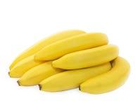 Δέσμη των φρέσκων πεντακάθαρων κίτρινων μπανανών Στοκ Εικόνες