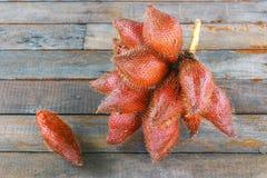 Δέσμη των φρούτων zalacca Στοκ φωτογραφία με δικαίωμα ελεύθερης χρήσης