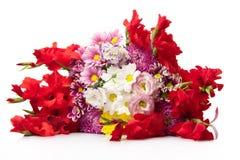 Δέσμη των φωτεινών λουλουδιών Στοκ Εικόνες