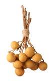 Δέσμη longan Στοκ Φωτογραφίες