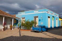 Δήμαρχος Plaza - κύριο τετράγωνο του Τρινιδάδ, Κούβα Στοκ Φωτογραφίες