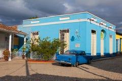 Δήμαρχος Plaza - κύριο τετράγωνο του Τρινιδάδ, Κούβα Στοκ Φωτογραφία