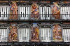 Δήμαρχος Plaza, Μαδρίτη, Ισπανία Στοκ Εικόνες