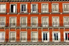 Δήμαρχος Plaza, Μαδρίτη, Ισπανία Στοκ Εικόνα