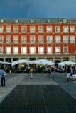 Δήμαρχος Plaza, Μαδρίτη Στοκ Εικόνα