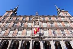 Δήμαρχος Plaza, Μαδρίτη Στοκ φωτογραφία με δικαίωμα ελεύθερης χρήσης