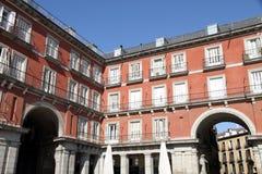 Δήμαρχος Plaza, πόλη της Μαδρίτης, Ισπανία Στοκ Εικόνα