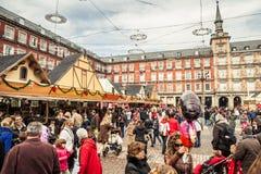 Δήμαρχος Plaza στα Χριστούγεννα Στοκ Φωτογραφίες