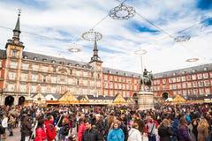 Δήμαρχος Plaza στα Χριστούγεννα Στοκ εικόνα με δικαίωμα ελεύθερης χρήσης