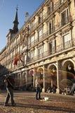 Δήμαρχος Plaza στη Μαδρίτη Στοκ Φωτογραφίες