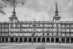 Δήμαρχος Plaza στη Μαδρίτη, Ισπανία Στοκ φωτογραφία με δικαίωμα ελεύθερης χρήσης
