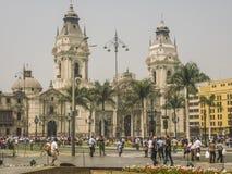 Δήμαρχος Plaza της Λίμα στο Περού Στοκ εικόνα με δικαίωμα ελεύθερης χρήσης
