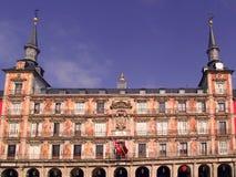 Δήμαρχος Plaza της Μαδρίτης, Ισπανία Στοκ φωτογραφία με δικαίωμα ελεύθερης χρήσης
