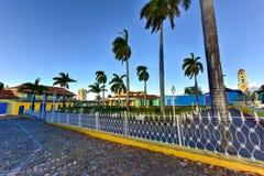 Δήμαρχος Plaza - Τρινιδάδ, Κούβα Στοκ Φωτογραφίες