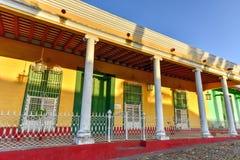 Δήμαρχος Plaza - Τρινιδάδ, Κούβα Στοκ Εικόνες