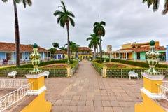 Δήμαρχος Plaza - Τρινιδάδ, Κούβα Στοκ εικόνα με δικαίωμα ελεύθερης χρήσης