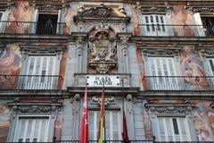 Δήμαρχος Plaza - Casa de Λα PanaderÃa στη Μαδρίτη, Ισπανία Στοκ εικόνες με δικαίωμα ελεύθερης χρήσης