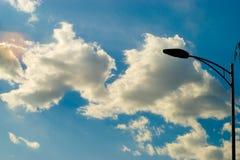 δίδυμα σύννεφων Στοκ Εικόνες