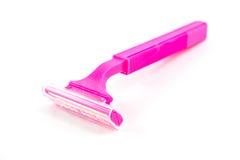 Δίδυμες λεπίδες για ένα άνετο ξύρισμα για το θηλυκό Στοκ εικόνα με δικαίωμα ελεύθερης χρήσης