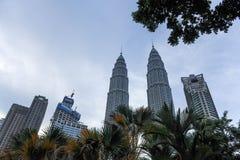 Δίδυμοι πύργοι της Κουάλα Λουμπούρ, Κουάλα Λουμπούρ Μαλαισία Στοκ φωτογραφία με δικαίωμα ελεύθερης χρήσης