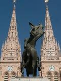 δίδυμο πύργων της Αργεντι& Στοκ φωτογραφία με δικαίωμα ελεύθερης χρήσης