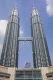δίδυμο πύργων petronas Στοκ Φωτογραφίες