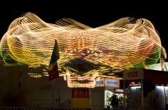 Δίκαιος γύρος κομητειών όχθεων ποταμού φεστιβάλ ημερομηνίας στοκ φωτογραφία