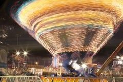 Δίκαιος γύρος κομητειών όχθεων ποταμού φεστιβάλ ημερομηνίας στοκ εικόνα