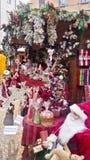 Δίκαιος στάβλος διακοσμήσεων Χριστουγέννων στοκ φωτογραφία