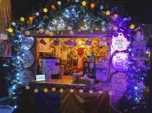 Δίκαιος στάβλος Χριστουγέννων, Brasov, Ρουμανία στοκ εικόνες με δικαίωμα ελεύθερης χρήσης