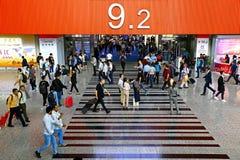 δίκαιο guangzhou pazhou 124ου καντονίου φθινοπώρου, Κίνα στοκ εικόνα με δικαίωμα ελεύθερης χρήσης