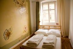 δίκλινο δωμάτιο ξενώνων Στοκ φωτογραφία με δικαίωμα ελεύθερης χρήσης