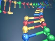 Δίκρανο αντενστάσεων DNA απεικόνιση αποθεμάτων