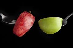 δίκρανο μήλων Στοκ φωτογραφίες με δικαίωμα ελεύθερης χρήσης