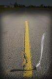 Δίκρανο στο δρόμο στοκ φωτογραφίες