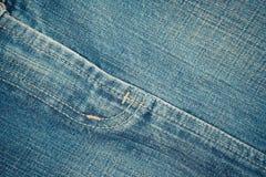 Δίκρανο τζιν παντελόνι Στοκ εικόνα με δικαίωμα ελεύθερης χρήσης