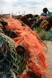Δίκτυα, σωλήνες και srap σε ένα havn Στοκ φωτογραφία με δικαίωμα ελεύθερης χρήσης