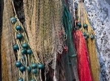 Δίκτυα Fishermens - Lago Maggiore, Ιταλία στοκ φωτογραφίες με δικαίωμα ελεύθερης χρήσης